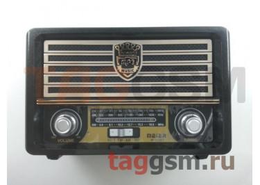 Колонка (M-113BT ch) (Bluetooth+USB+SD+MicroSD+FM) (черная)