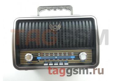 Колонка (MD-1909BTch) (Bluetooth+USB+MicroSD+FM) (черная)