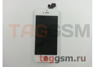 Дисплей для iPhone 5 + тачскрин белый, TG (HC)
