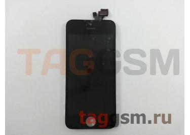 Дисплей для iPhone 5 + тачскрин черный, TG (HC)