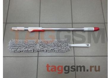 Щётка для уборки Xiaomi Yijie can bend and remove dusty hair cloth (Yb-01) (red-grey)