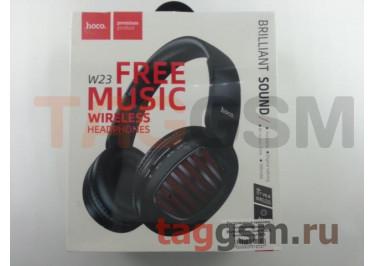 Беспроводные наушники (полноразмерные Bluetooth) (черные) HOCO Brilliant sound W23