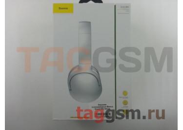 Беспроводные наушники (полноразмерные Bluetooth) (белые) Baseus Encok D02