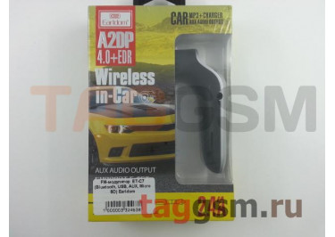 FM-модулятор  ET-C7 (Bluetooth, USB, AUX, Micro SD) Earldom