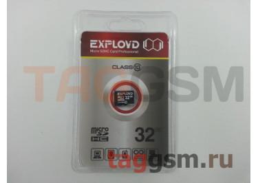 Micro SD 32Gb Exployd Class 10 без адаптера SD