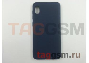 Задняя накладка для Samsung A10 / A105 Galaxy A10 (2019) (силикон, матовая, синяя (Matte)) Faison