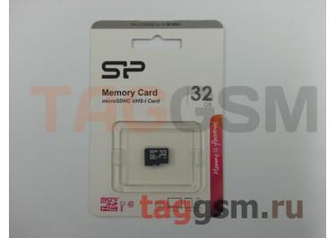 Micro SD 32Gb Siliсon Power Class 10 без адаптера SD