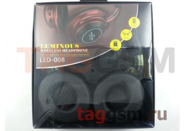 Беспроводные наушники (полноразмерные Bluetooth) (зеленый) LED-008