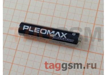Элементы питания R03-4BL (батарейка,1.5В) Pleomax