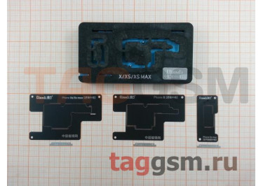 Держатель плат QIANLI для iPhone X / XS / XS Max + трафареты