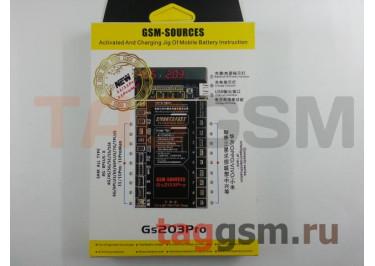 Плата для зарядки акб iPhone 4 / 4S / 5 / 5C / 5S / 6 / 6 Plus / 6S / 6S Plus / 7 / 7 Plus / 8 / 8 Plus / X / XR / XS / XS Max / 11 / 11 Pro / 11 Pro Max / Asus / Meizu / Sony / Xiaomi / Lenovo / ZTE / Oppo / Vivo + провод питания + USB + индикатор (GS203Pro)