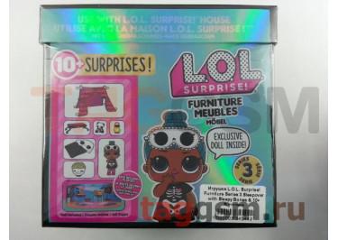 Игрушка L.O.L. Surprise! Furniture Series 3 Sleepover with Sleepy Bones & 10+ Surprises