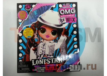Игрушка L.O.L. Surprise! O.M.G. Remix Lonestar Fashion Doll - 25 Surprises with Music