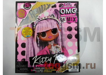 Игрушка L.O.L. Surprise! O.M.G. Remix Kitty K Fashion Doll - 25 Surprises with Music