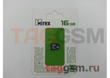 Micro SD 16Gb Mirex Class 10 без адаптера SD