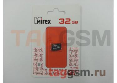 Micro SD 32Gb Mirex Class 10 без адаптера SD