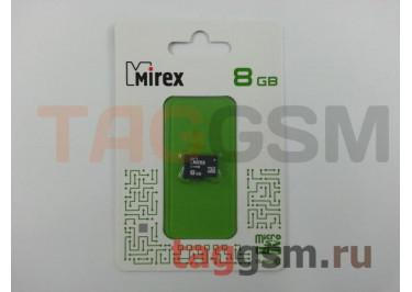 Micro SD 8Gb Mirex Class 10 без адаптера SD
