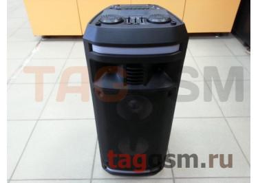 Колонка (AO-12) (Bluetooth+USB+MicroSD+FM+MIC+LED) (черные) Dialog