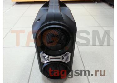 Колонка (ZQS-4230) (Bluetooth+USB+MicroSD+FM+LED+пульт) (черная)