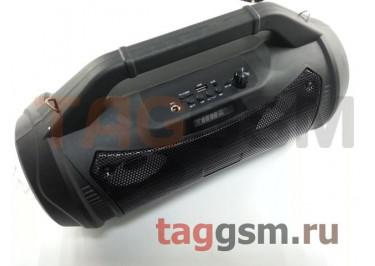 Колонка (ZQS-4227) (Bluetooth+USB+MicroSD+FM+AUX+LED+дисплей+пульт) (черная)
