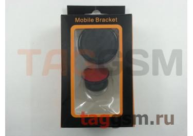 Автомобильный держатель (магнитный) для мобильных телефонов 360 градусов, черный