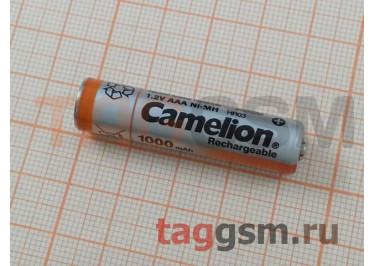 Аккумуляторы R03-2BL никель-металлгидридные (1000 mAh) Camelion