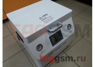 Станок для склейки дисплейного модуля TBK 308A (автоклав, компрессор, вакуумная камера + пресс, вакуумный насос)