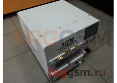 Станок для склейки дисплейного модуля AIDA A-508A (автоклав, компрессор, вакуумная камера + пресс, вакуумный насос, формы Samsung S7 / S8 / S8+ / NOTE 8)