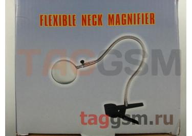 Лупа MG15120 на железном зажиме