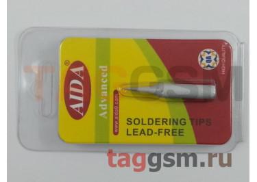 Жало для паяльника AIDA 900M-T-I прямое, тонкое (серебро)