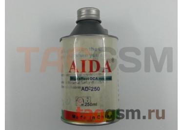 Жидкость для очистки дисплеев от клея AIDA AD-250 (250мл)