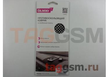 Автомобильный коврик для телефона OLMIO (19,2x21) противоскользящий