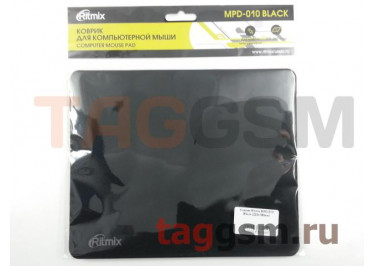 Коврик Ritmix MPD-010 Black (220х180мм)