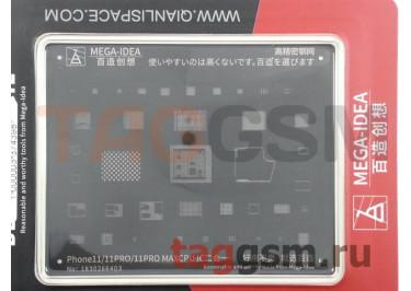 Трафарет BGA для iPhone 11 / 11 Pro / 11Pro Max  CPU IC MEGA-IDEA