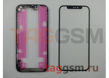 Стекло + OCA + рамка для iPhone 12 / 12 Pro, ориг