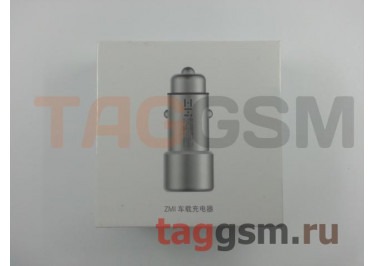 Автомобильное зарядное устройство Xiaomi ZMI Car Charger (18W) (AP821) (silver)