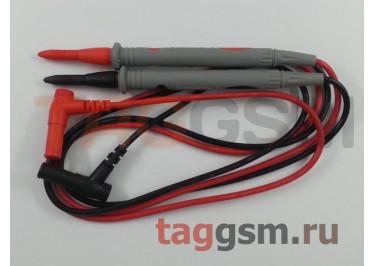 Щупы для мультиметра с кабелем Cleqee P1502 (штекер 4мм, 1000В, 20А) 2шт.