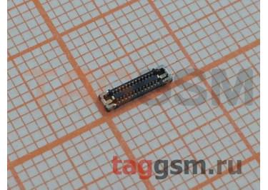 Коннектор дисплея (установлен на плату) для iPhone XR / 11
