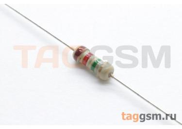 Резистор постоянный 0,25Вт 1,2 МОм 5% (CF-0,25W-1,2M)