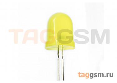 Светодиод круглый 10мм (Жёлтый)