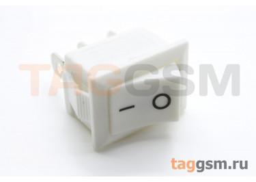 KCD-1230 3P Переключатель на панель белый ON-ON SPDT 250В 6А (18,7х13мм) [MRS-102-2C3-W / W]