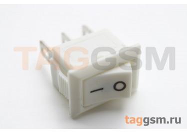 KCD5-102-C3-W / W Переключатель на панель белый ON-ON SPDT 250В 3А (13,2x8,8мм)