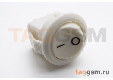KCD5-2-101-C3-W / W Переключатель на панель белый ON-OF SPST 250В 3А (14мм)