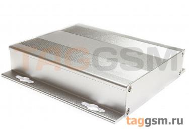 AK-C-A28 Корпус алюминиевый навесной серебристый 28x132x130мм (0,223кг)