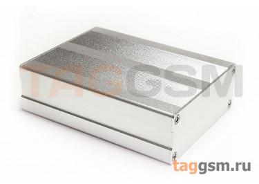 AK-C-B48 Корпус алюминиевый настольный серебристый 30x79x100мм (0,115кг)