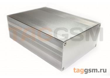 AK-C-C25 Корпус алюминиевый настольный серебристый 68x145x200мм (0,876кг)