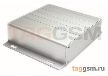 AK-C-A40 Корпус алюминиевый навесной серебристый 100x130x31мм (0,185кг)