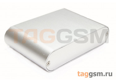 AK-C-B41 Корпус алюминиевый настольный серебристый 26x108x70мм (0,093кг)