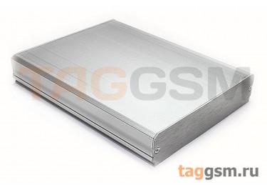 AK-C-B11 Корпус алюминиевый настольный серебристый 22x104x130мм (0,165кг)