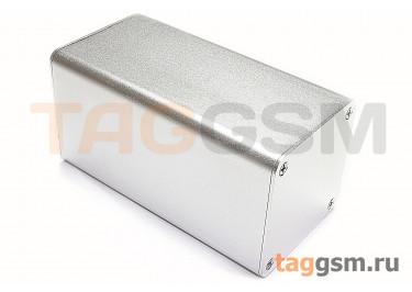AK-C-B86 Корпус алюминиевый настольный серебристый 100x52x52мм (0,119кг)